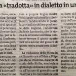 GIORNALE DI SICILIA 28 luglio 2008